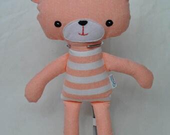 Orange Teddy Soft Toy