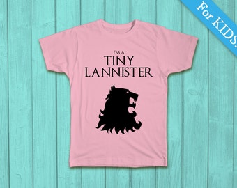 Game of Thrones Kids T-shirt, I'm a Tiny Lannister