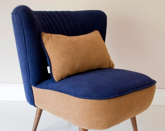 Mona Mid Century Upcycled Armchair