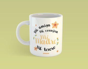 Mug, gift, mother, detail, beautiful day