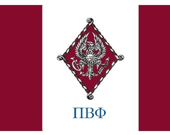 Pi Beta Phi Flag - 3' X 5' Officially Approved