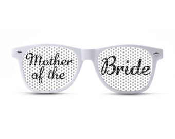 Mother of the Bride Script Sunglasses/Wedding Sunglasses/Wedding Party Shades