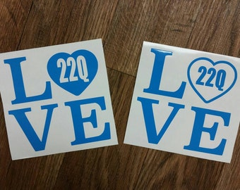 22Q Decal DiGeorge Syndrome Decal