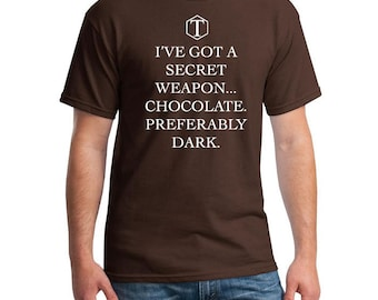 I've got a secret weapon, Chocolate preferably dark Torchwood inspired Captain Jack Harkness BBC Doctor Who Ianto Jones