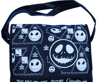 NIGHTMARE BEFORE CHRISTMAS Messenger / Shoulder Bag  - Jack Skellington