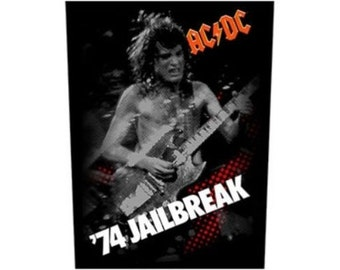 AC/DC Back Patch Sew On  Jailbreak 74