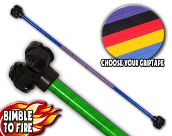 Handmade 120cm Flower Staff - Complete Range Of Customizable Colours / Worldwide Shipping