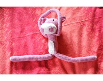 Pig Monster // Amigurumi or soft toy of crochet that looks like a pig