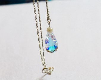 Swarovski Drop Necklace