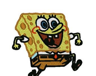 Spongebob Embroidery Pattern