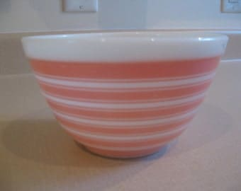 Pyrex Rainbow Stripes Bowl