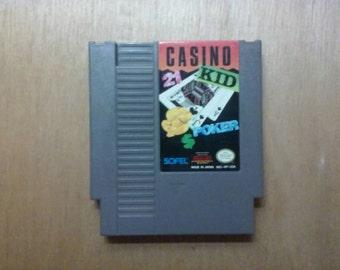 Casino Kid Nintendo Nes Game
