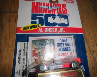 Racing Champions 1994 Indy 500 winner Al Unser JR 1/64TH SCALE CAR/1995/Speedway/Brickyard/limited edition/premier