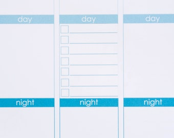 20 Checklist Boxes | Planner Stickers designed for use with the Erin Condren Life Planner | 0915