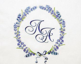 Machine Embroidery Design - Fragrant lavender