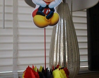 Mickey Mouse Inspired Centerpieces, Mickey Mouse, Mickey Mouse Birthday, Mickey Mouse Party, Mickey Mouse Theme