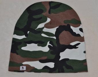 Major Tom handmade slouch jersey Beanie