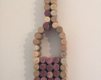 Wine Bottle Wall Decoration