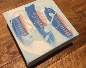 Strength Abstract Painting | Acrylic | Painting | Wall Art | Fine Art | Visual Art | Gift | Birthday Gift | Housewarming Gift |Miniature Art