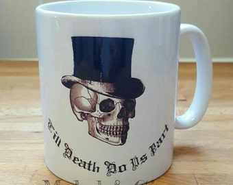 Till death do us part mug set