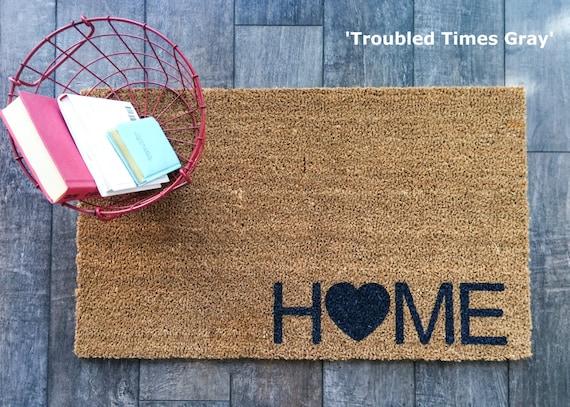Home Doormat Hand Painted Outdoor Welcome Mat Custom