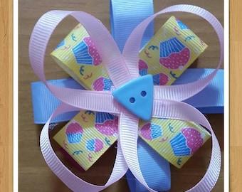 Pink cupcakes bows