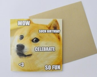Doge Birthday