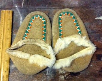 Beautiful vintage childern's moccassins