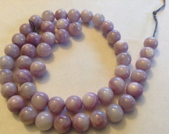 8mm dyed mother of pearl beads