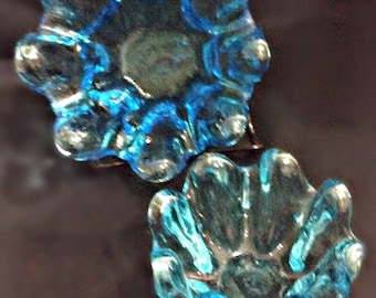 Crystal Blue Candy Dishes