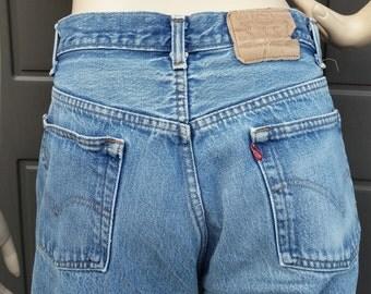 501 Levis  Denim Jeans vintage 80's Waist 32  in