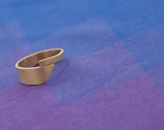 Bold Asymmetric Midi Ring