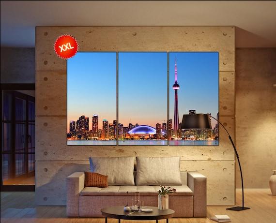 Toronto  canvas wall art Toronto wall decoration Toronto canvas wall art art Toronto large canvas wall art  wall decor