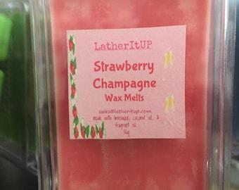 Strawberry Champagne Wax Melts, Tarts