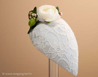 Bridal Fascinator Mediteran Peonies