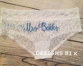 Wedding Lingerie, Wedding panties, Bridal lingerie, Bridal underwear, Wedding underwear, Bridal shower gift, Lingerie gift,Bachelorette gift