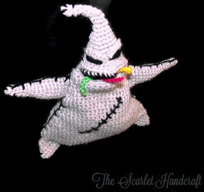Oogie Boogie Crochet Amigurumi. Nightmare by ...