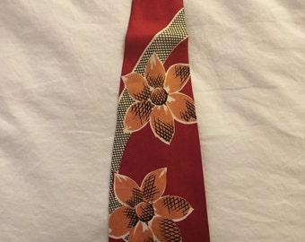 Vintage 1940's Mens necktie