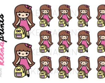 A636 | Backpack stickers - Keenachi, School stickers, Student stickers, Study stickers, Emotion ...