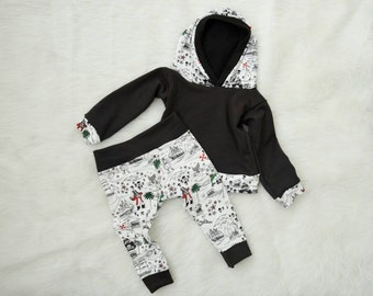 Little Pirate Leggings & Hoodie Set