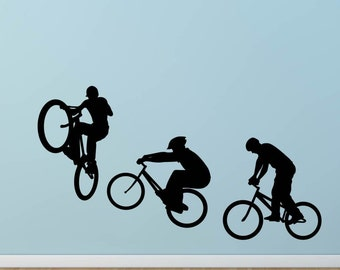Bikers Shapes Ride Extreme Set Wall