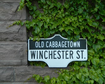 Toronto Street Sign - Old Cabbage Town