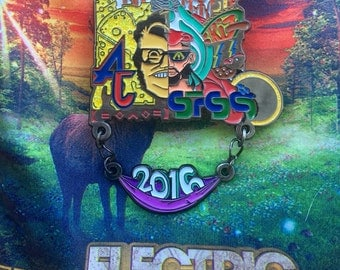 Electric Forest 2016 Pin