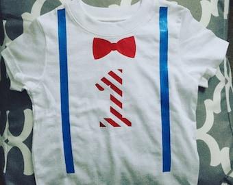 Dr. Seuss 1st Birthday Shirt