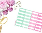 May Mini Marquee -- Matte Planner Stickers
