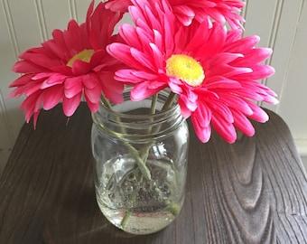 Artifical Pink Flower Arrangement
