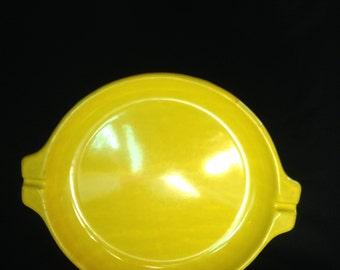 Vintage Styson Inc. Yellow Enamelware Chopstick Plates,Styson Yellow Enamel Ware,Styson 1969 Royale Yellow Enamelware Plates Set of four 4