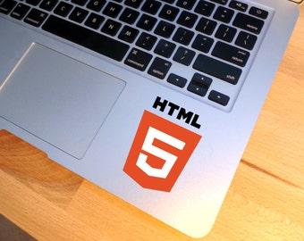 HTML 5 Vinyl Decal