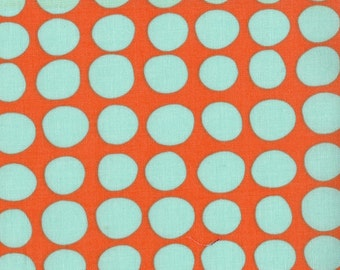 Amy Butler Sunspots Fabric - Tangerine (Bliss Tula Fabric) - sold by the 1/2 yard