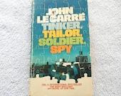 John LeCarre Tinker, Tailor, Soldier, Spy Vintage Paperback Book